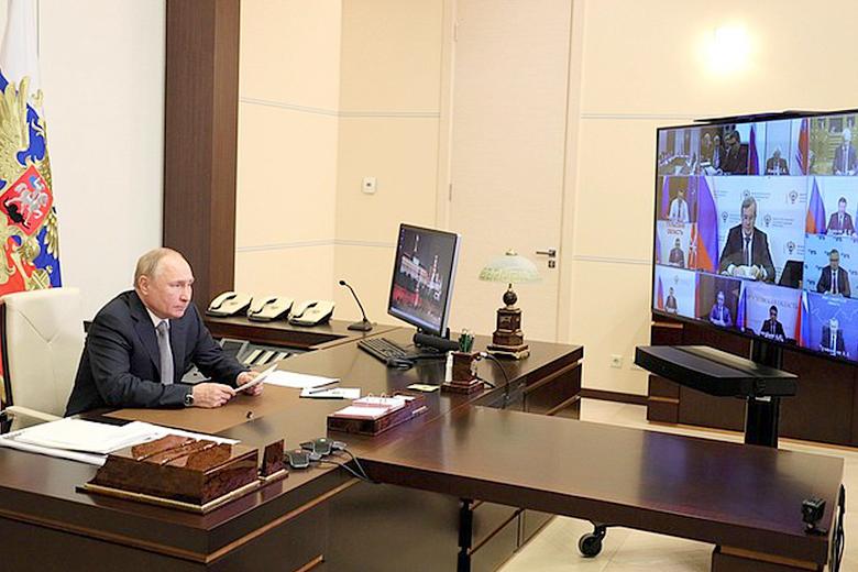 Денис Паслер принял участие в заседании Президиума Госсовета